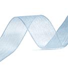 Organza lint lichtblauw
