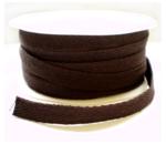 Keperband bruin cotton