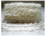 Ivoor fluffy sierband,32.4 mtr_