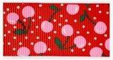 Kersen lint rood, 25mm