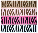 Zebra lint bruin