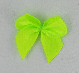 Neon gele strikjes