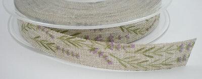 Lavendel lint zand