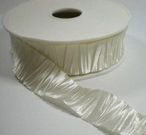 plisse ivoor lint