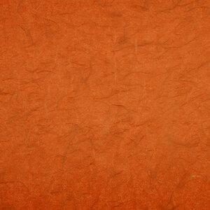 Oranje silk sticker