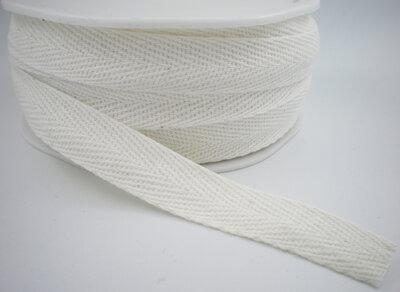 Keperband wit 15mm