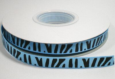Zebra lint blauw