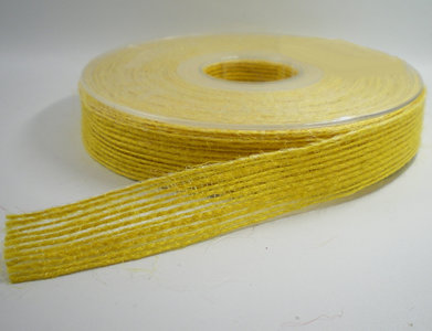 Jute lint geel